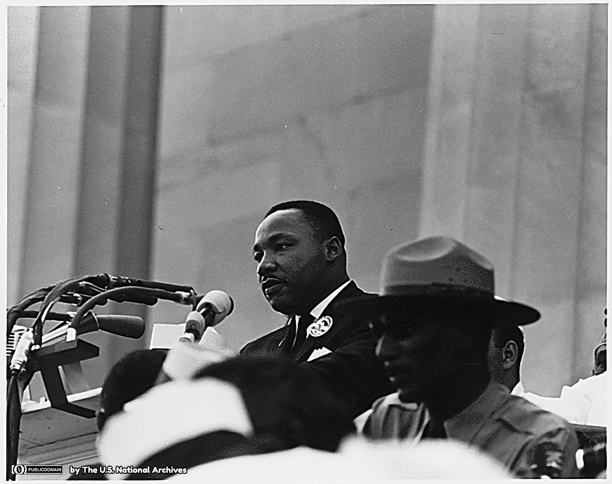 Dr. Martin Luther King, Jr. speaking 1200 lic