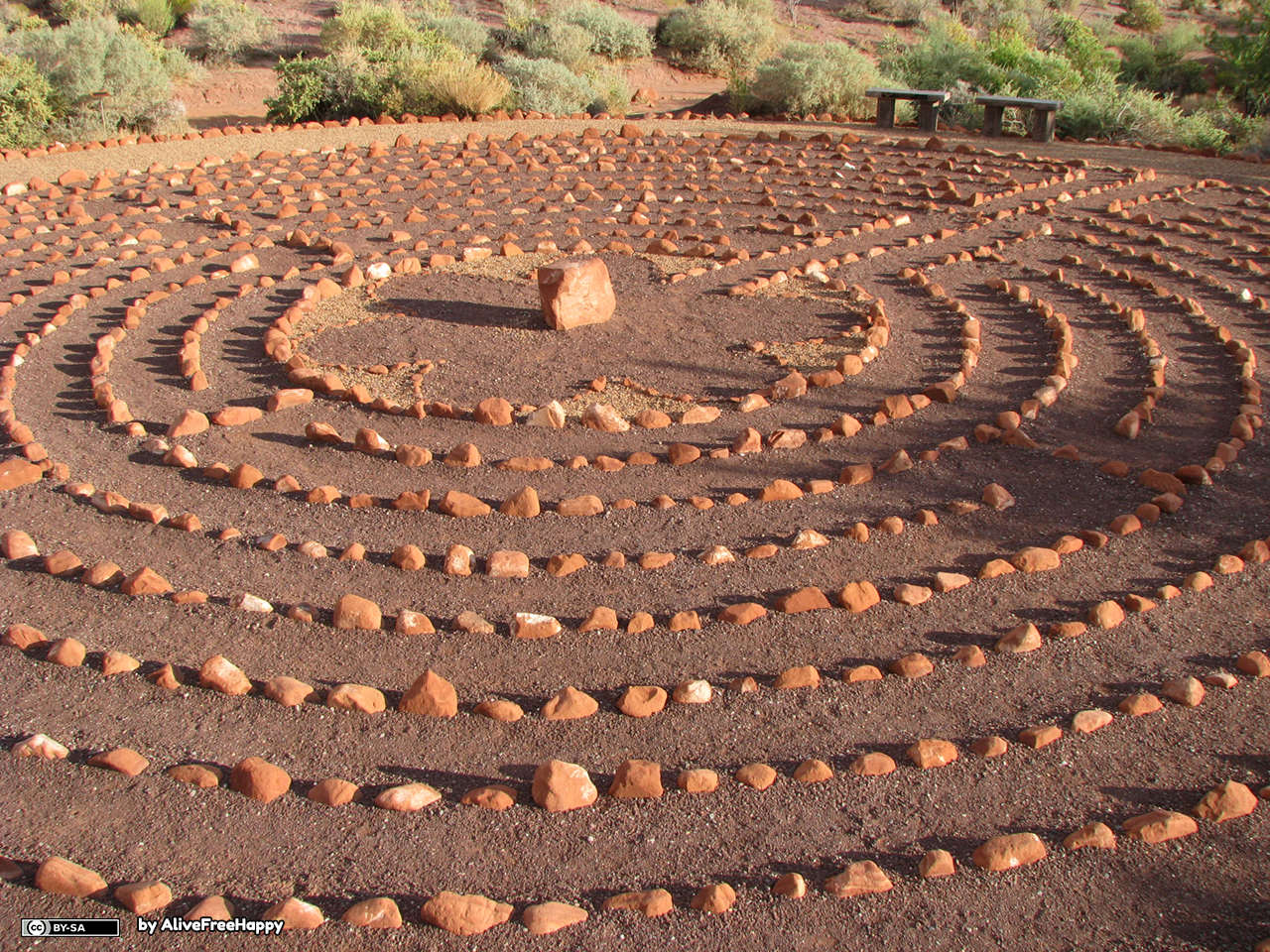 Desert_Rose_Labyrinth BY SA AliveFreeHappy lic